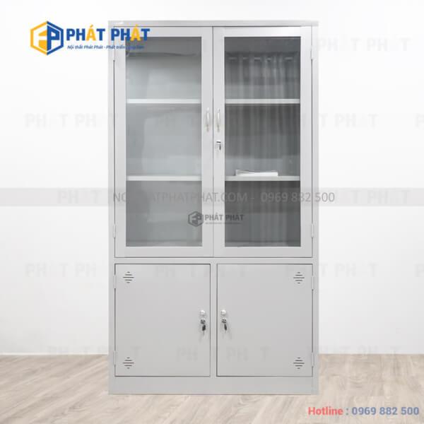 Mẫu tủ sắt văn phòng giá rẻ được ưa chuộng nhất hiện nay